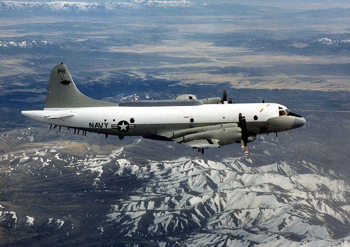 Navy E-P3 US plane