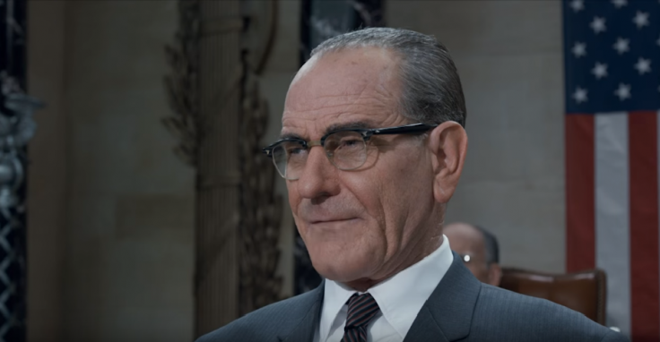 Bryan Cranston as Lyndon B Johnson