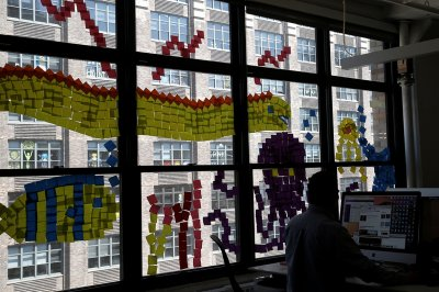 Post It Notes, NYC