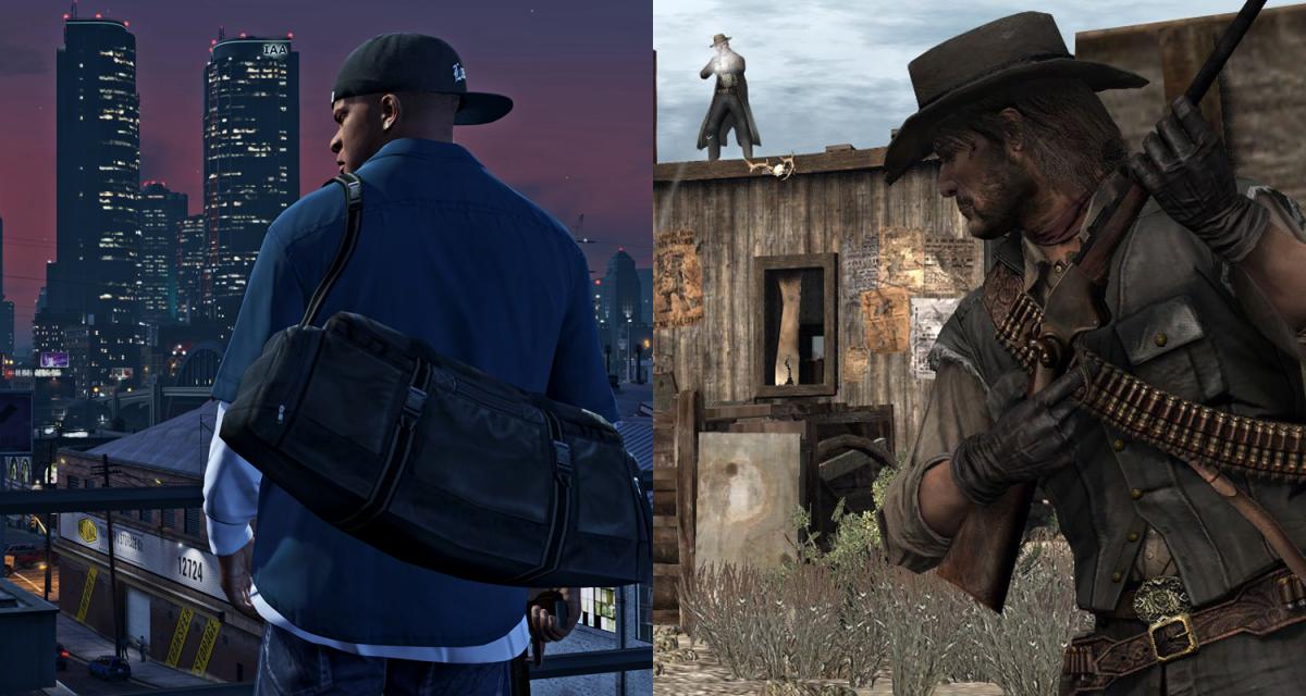 Rockstar Games GTA 5 Red Dead Redemption