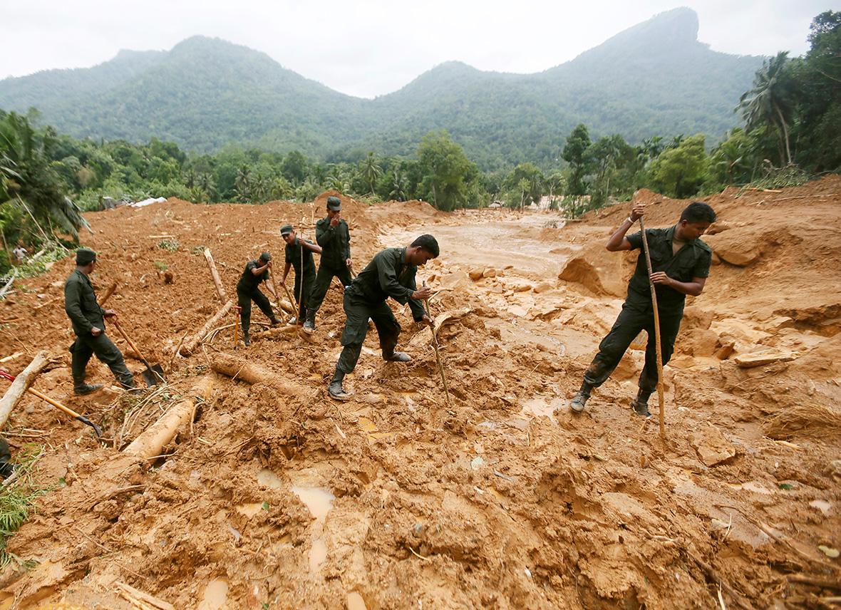 Sri Lanka landslide