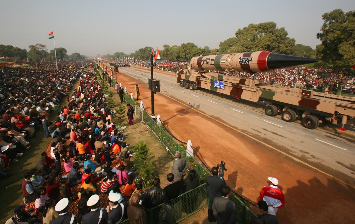 India nuclear missile