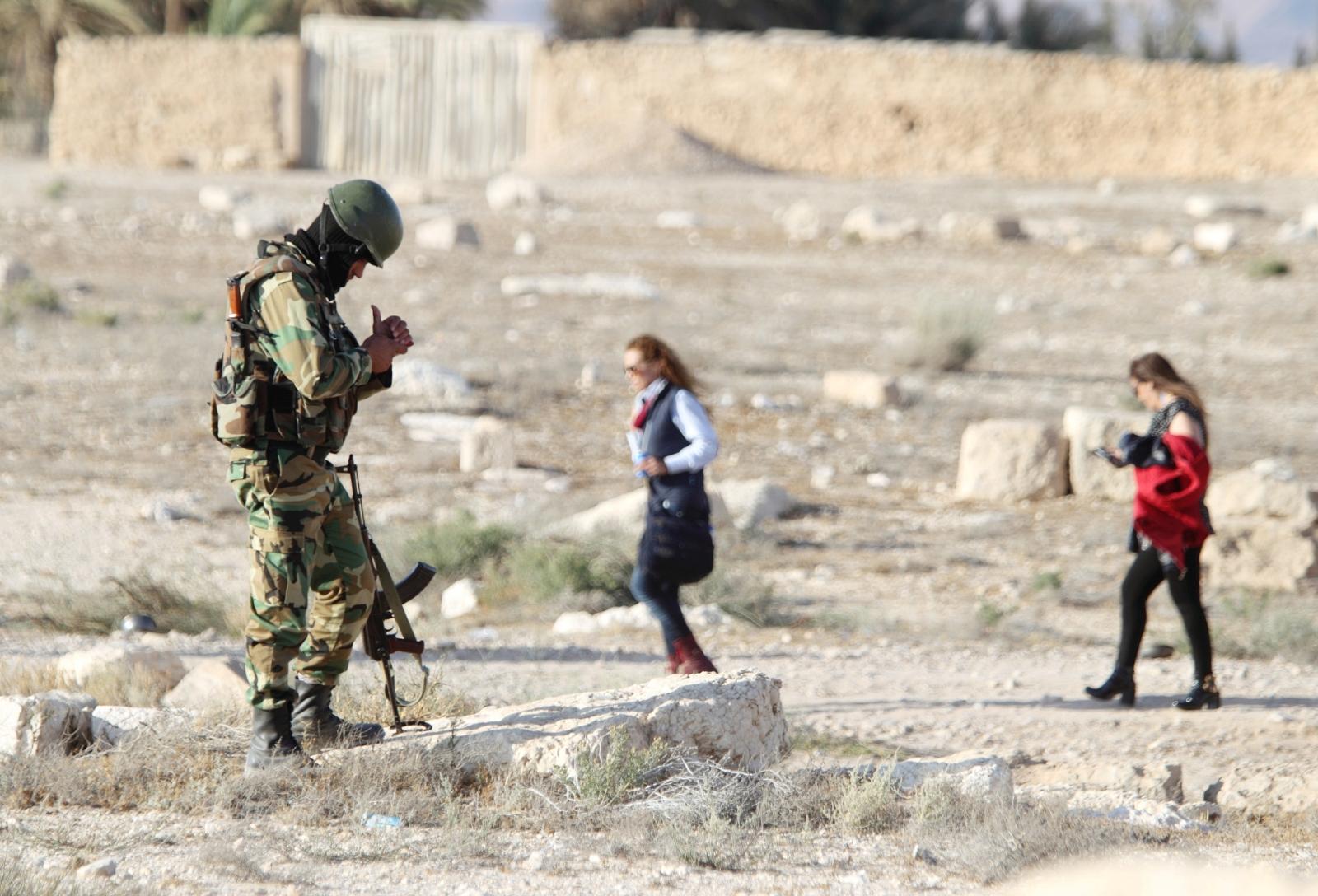 Palmyra soldier