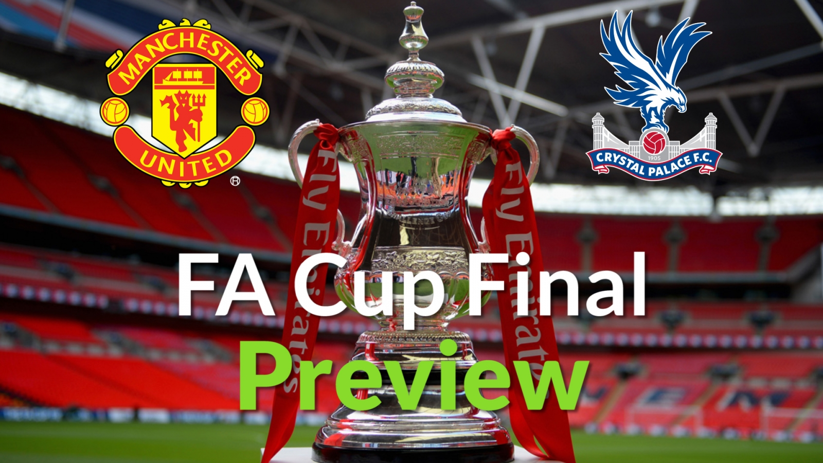 FA Cup Final 2016 Manchester United V Crystal Palace