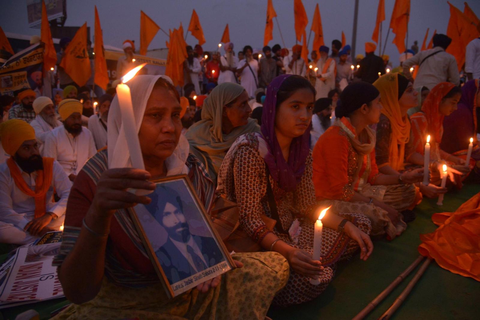 1984 Sikh massacre