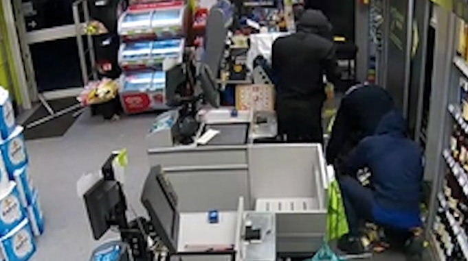 Co-op burglary