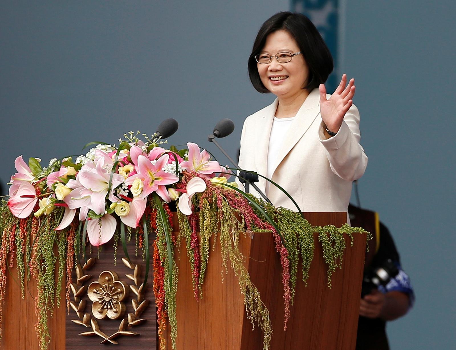 Tsai Ing-wen: Taiwan's first female president omits ...