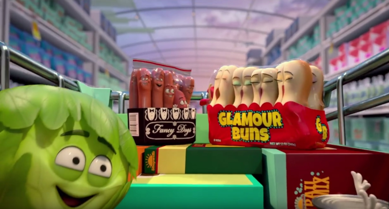 Sausage Party Green-band Trailer Cuts Out The Swear Words