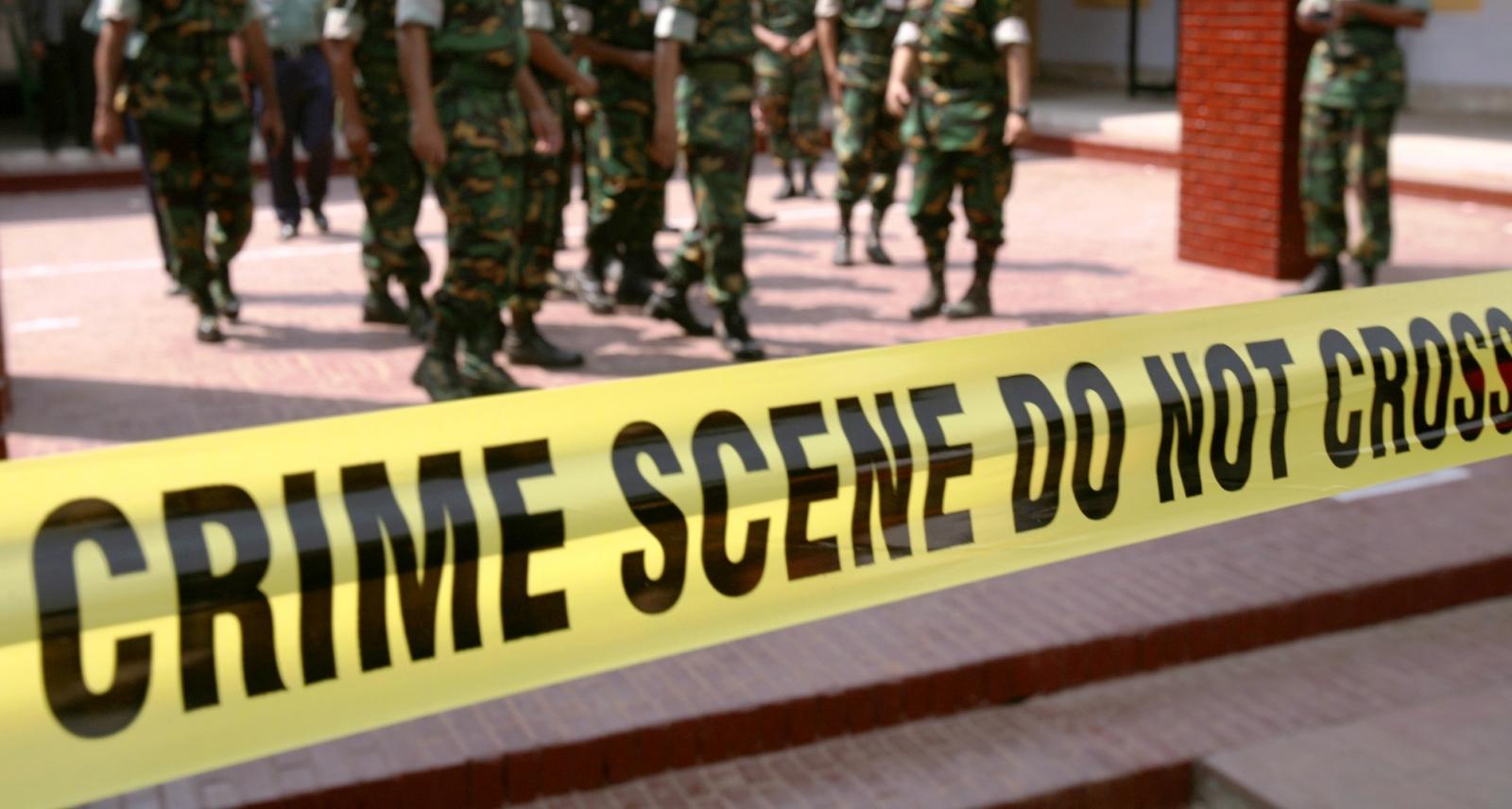 Bangladesh crime scene
