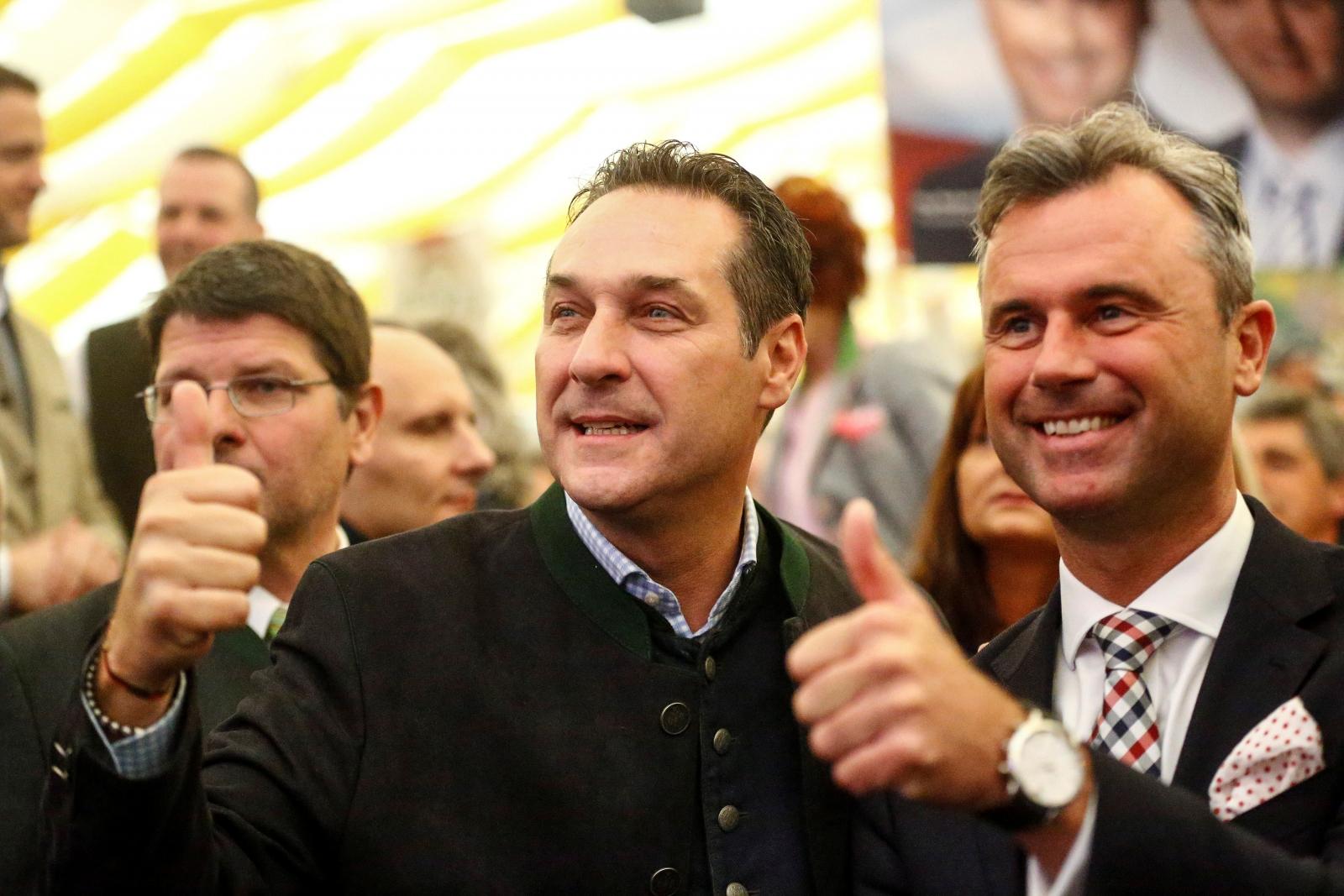 Austrian election rally