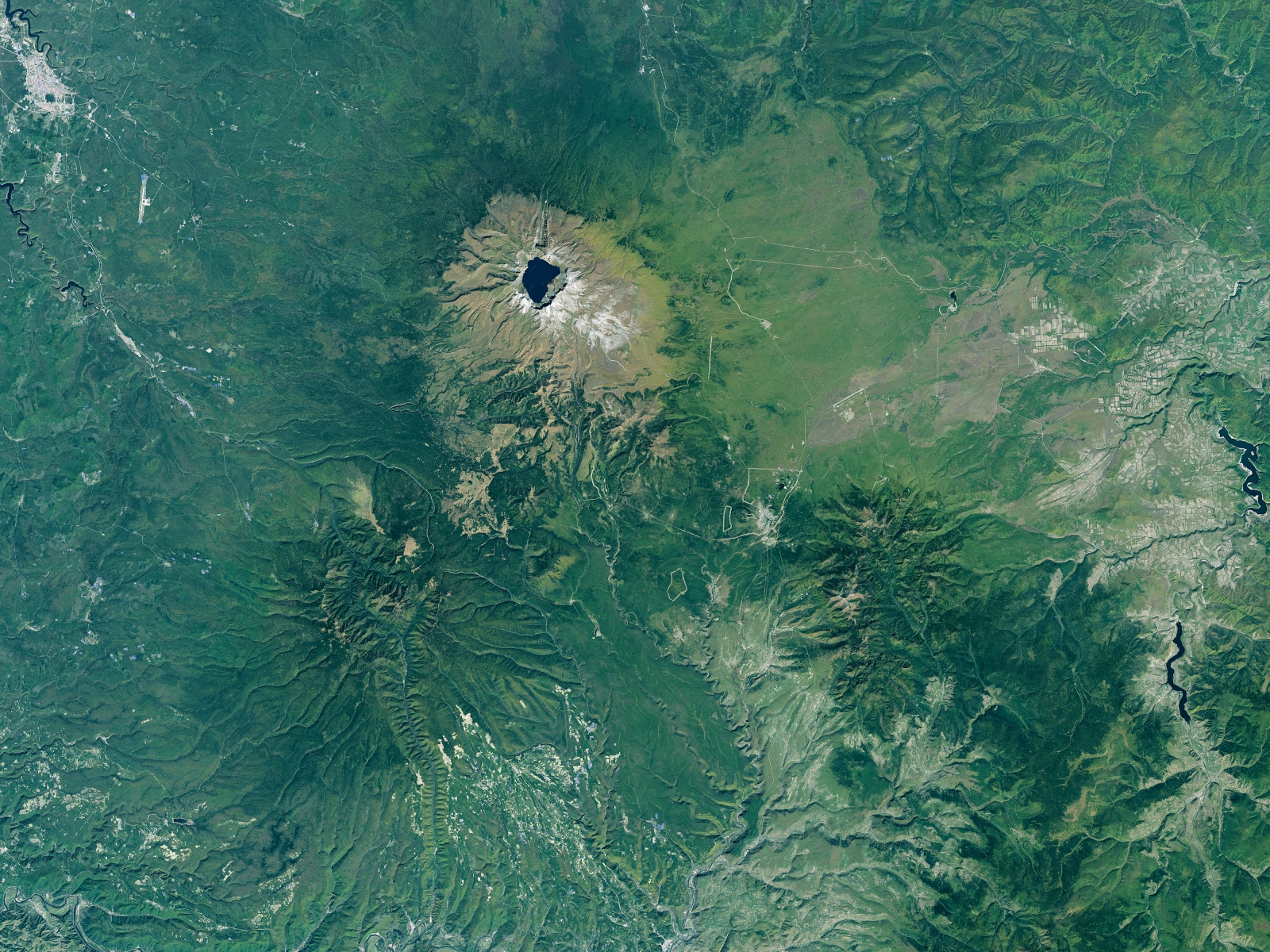 North Korea volcano Mount Paektu