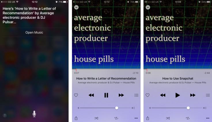 Siri playing fake tracks on Apple Music