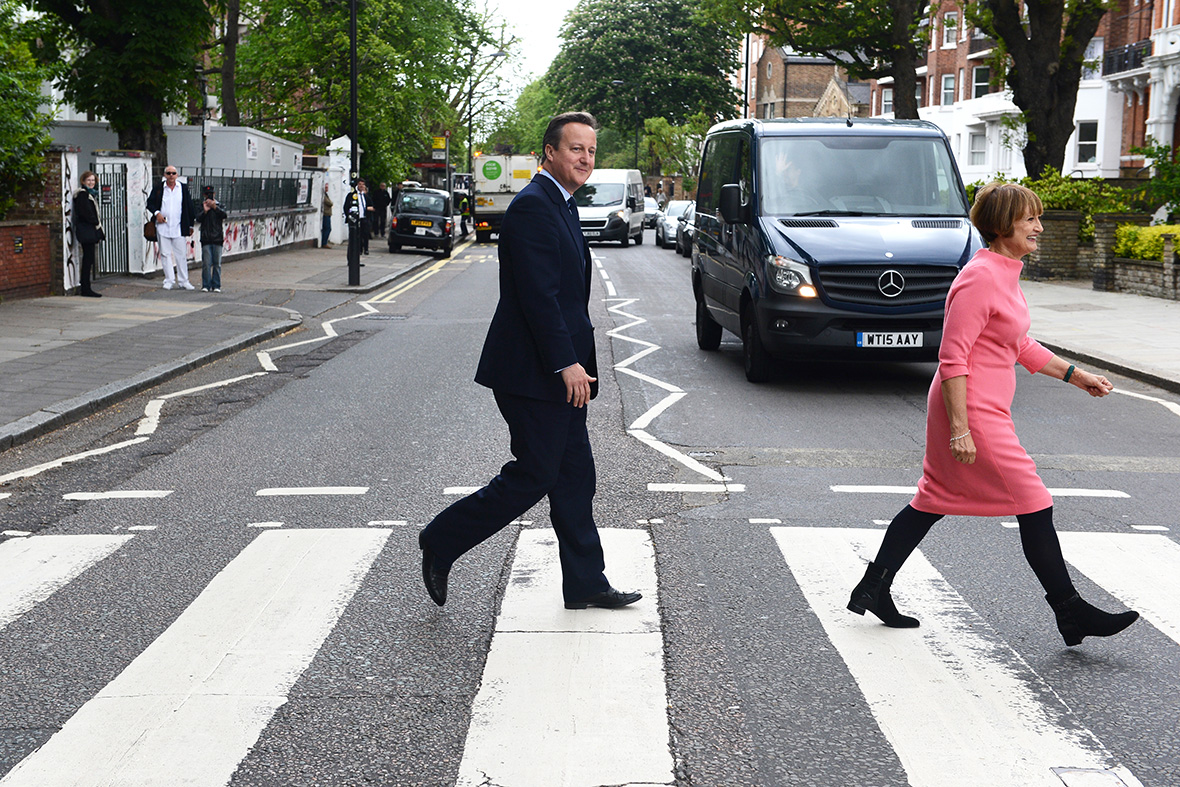 David Cameron Abbey Road