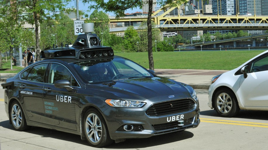 Uber self-driving car