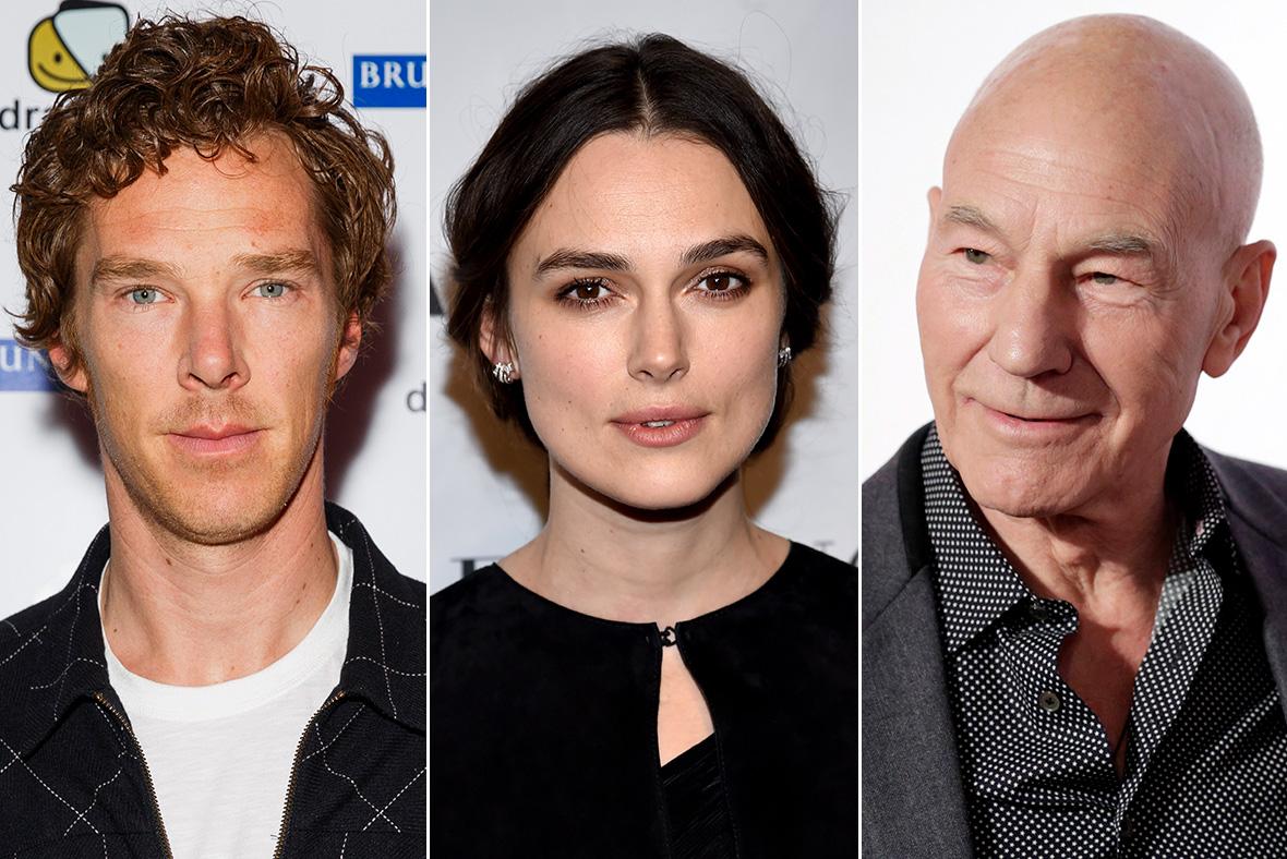 Cumberbatch, Knightley, Stewart