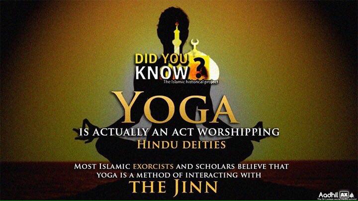 Islamic State isn't keen on yoga