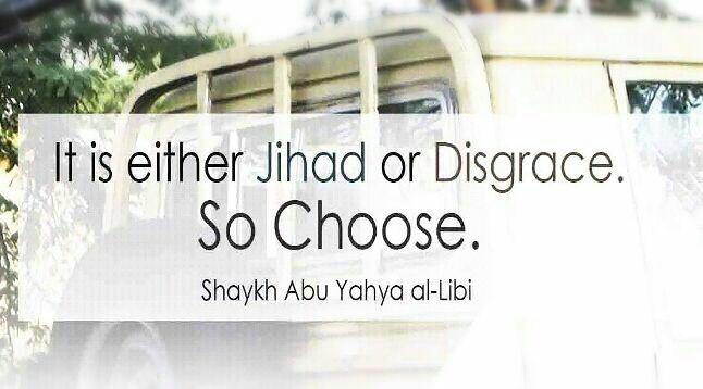 Jihad image found on Isis Telegram channels