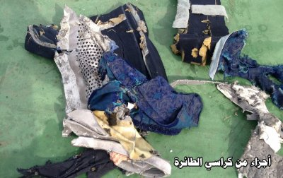 EgyptAir MS804 Debris 4