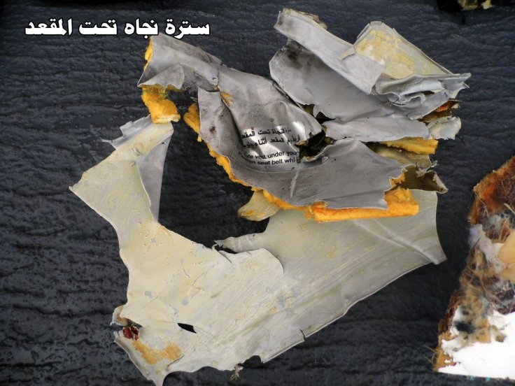 EgyptAir MS804: Debris 5