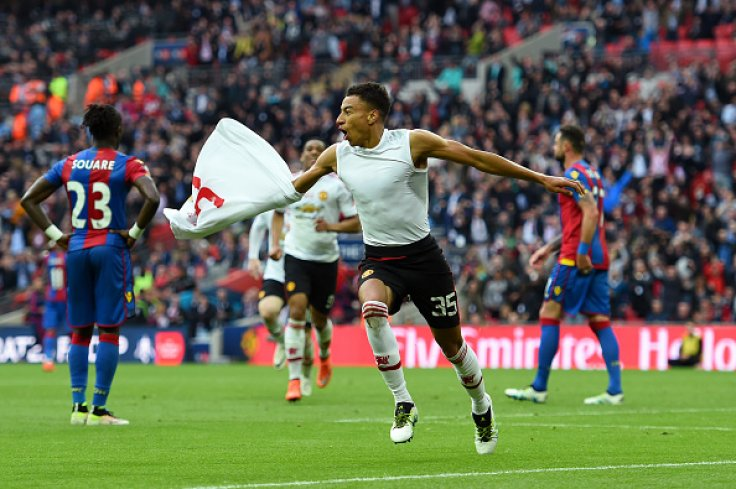 ff751432f Jesse Lingard Jesse Lingard celebrates after scoring the winner in Manchester  United s ...