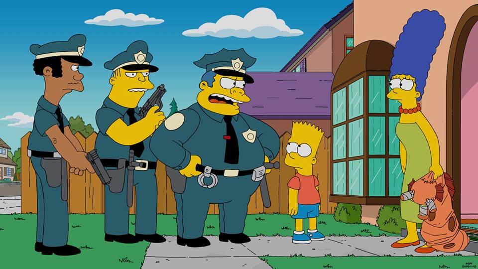 Simpsons season 27 finale