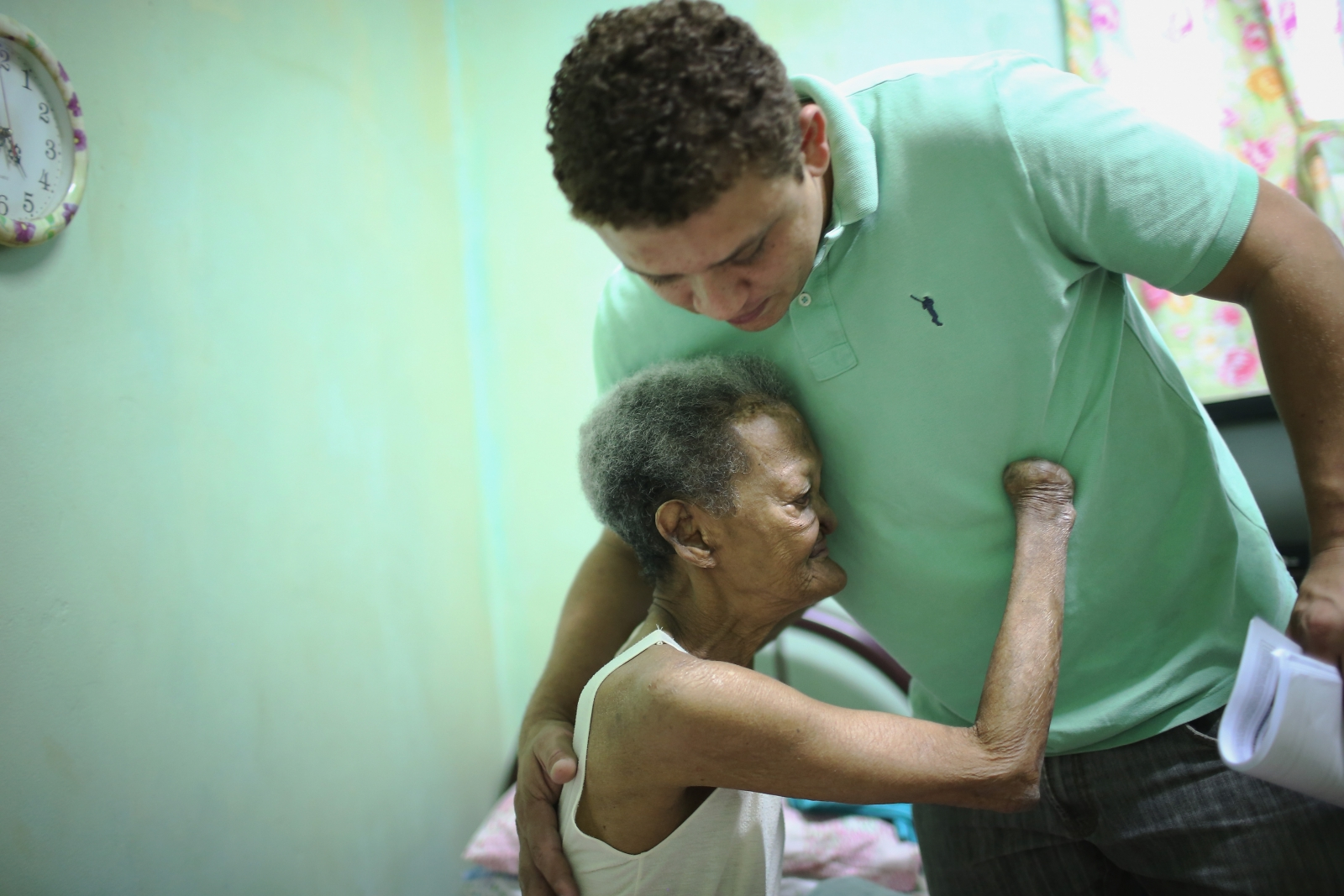 Former leprosy patient at Curupaiti Hosptial