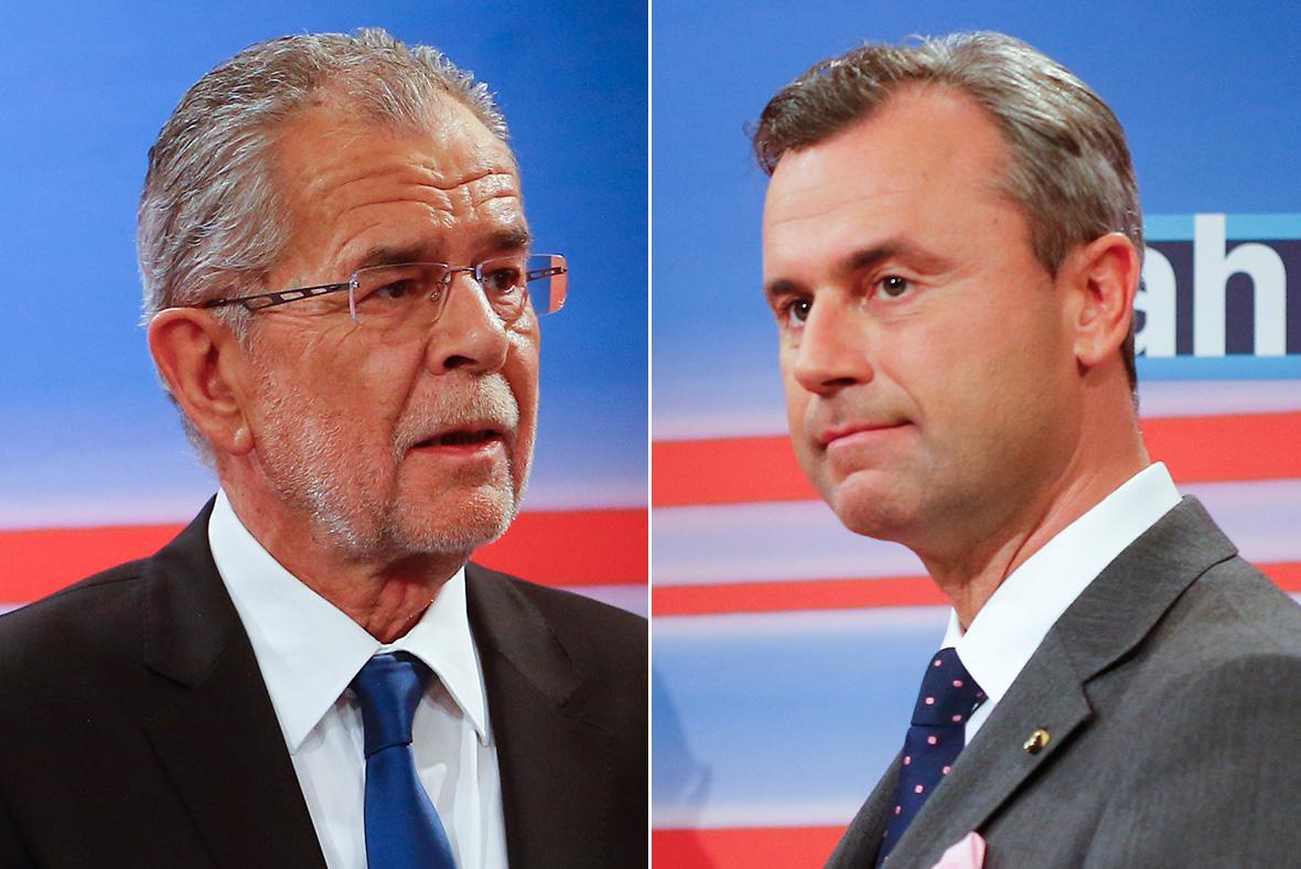 Austria presidential candidates