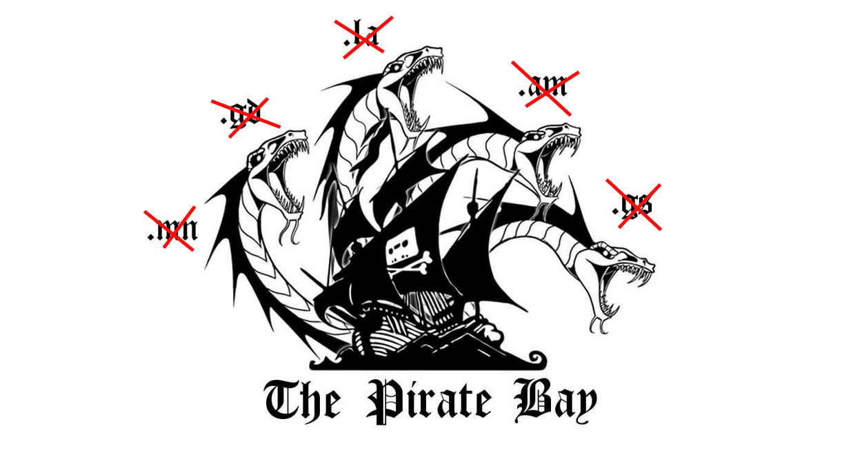 Pirate Bay's hydra approach has failed