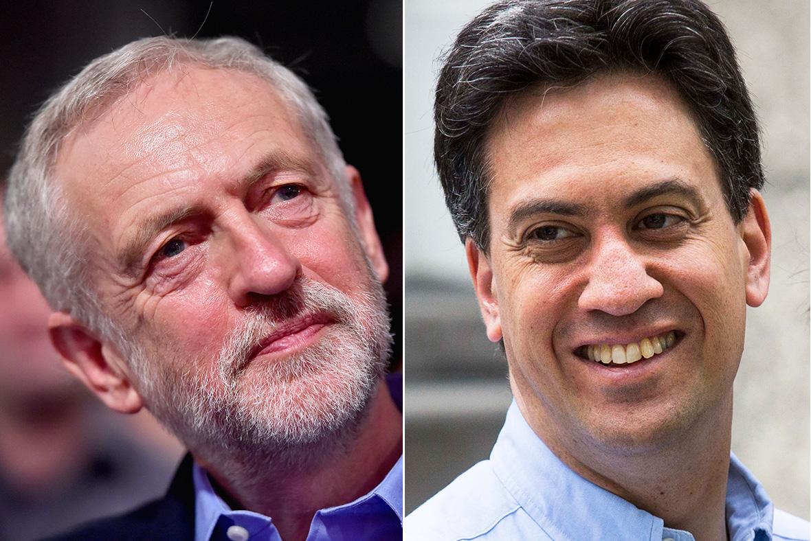 Jeremy Corbyn, Ed Miliband