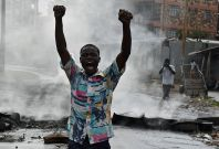 Kenya election protests IEBC