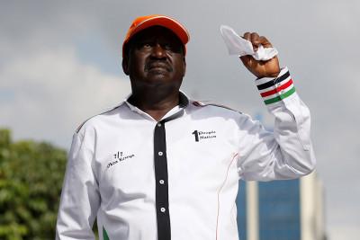 Kenya election protests IEBC