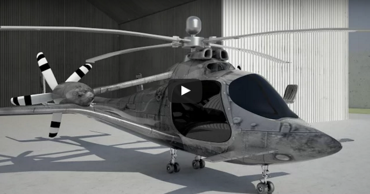 world's fastest helicopter with hybrid design could revolutionise air travel