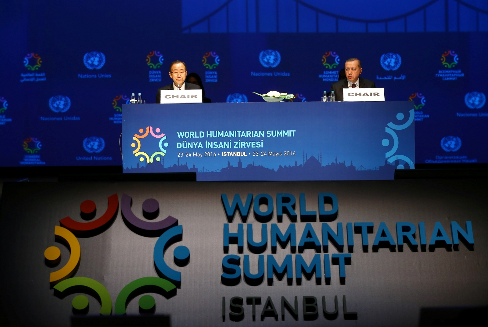 World Humanitarian Summit: £2.7bn for education in warzone areas