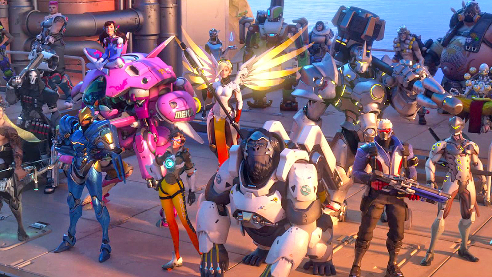 Overwatch character guide