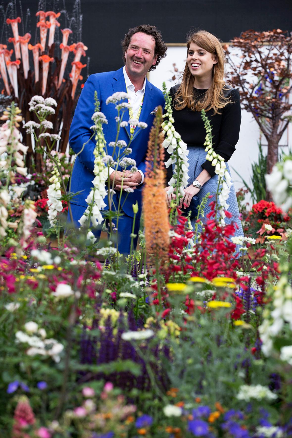 Chelsea Flower Show 2016 Royals