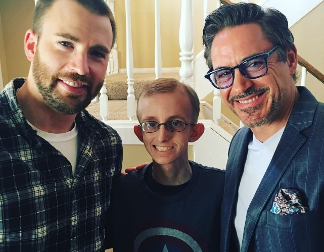 Avengers pay a special visit to fan