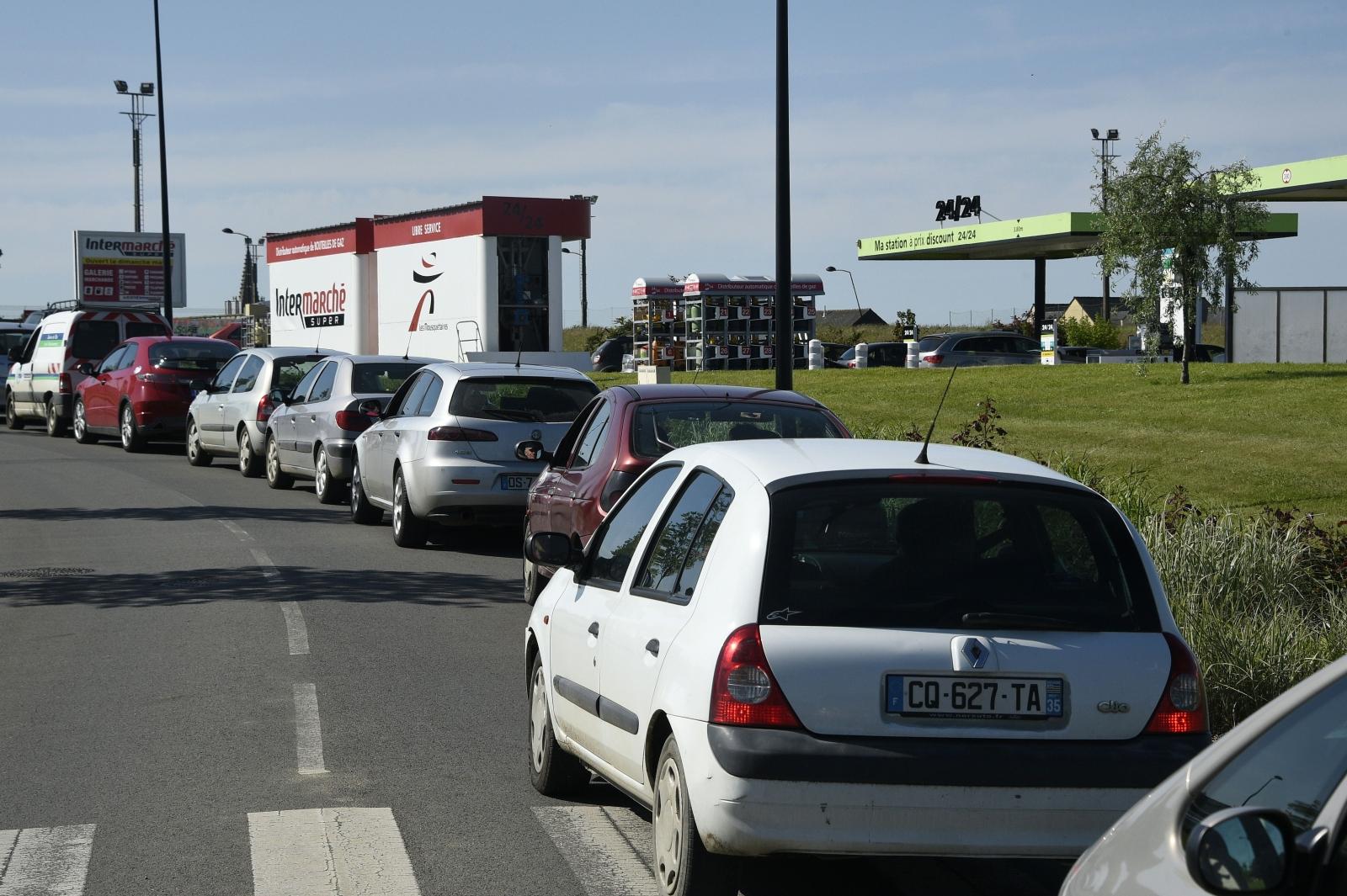 France oil strike