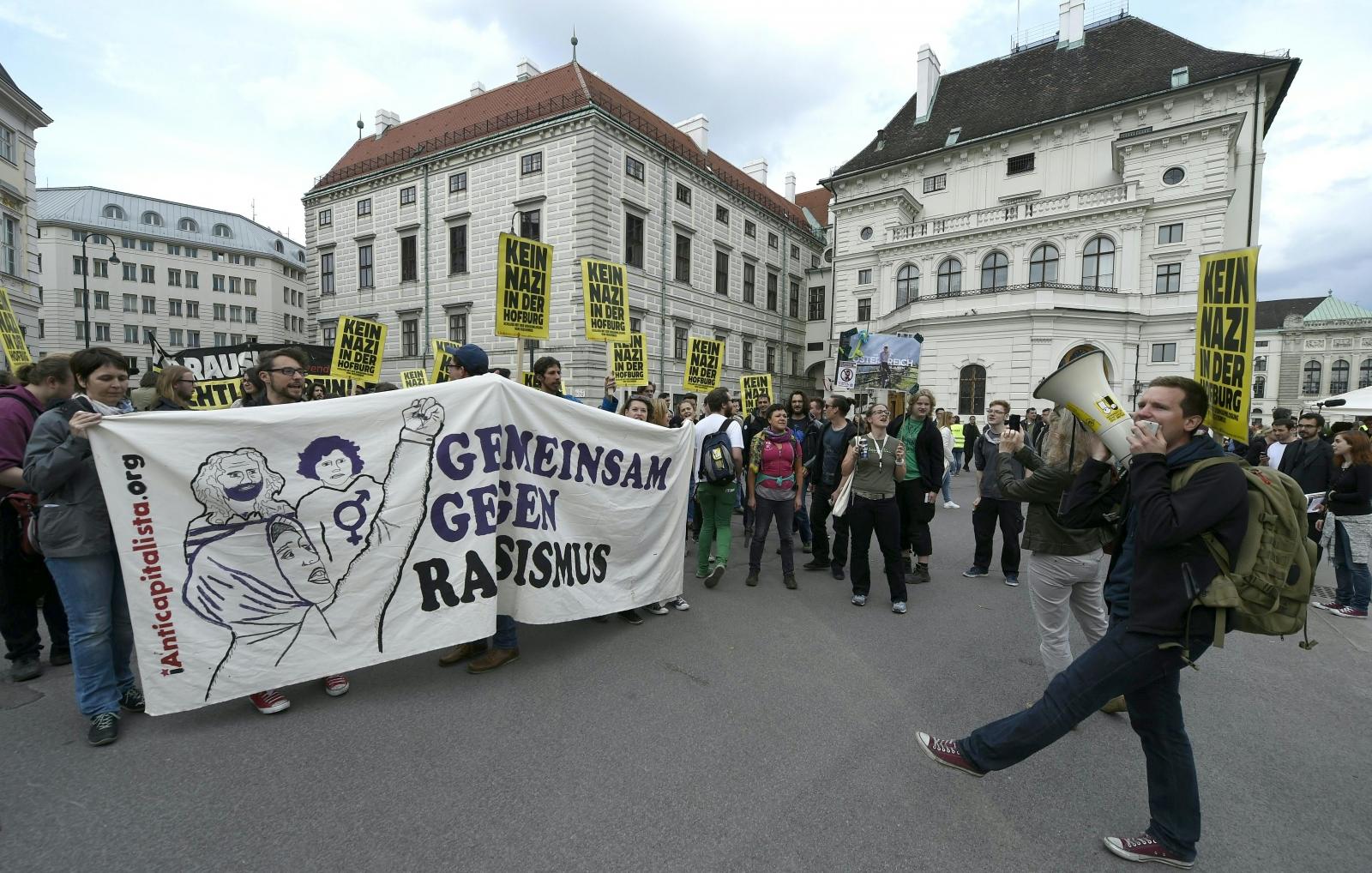 Austria protest
