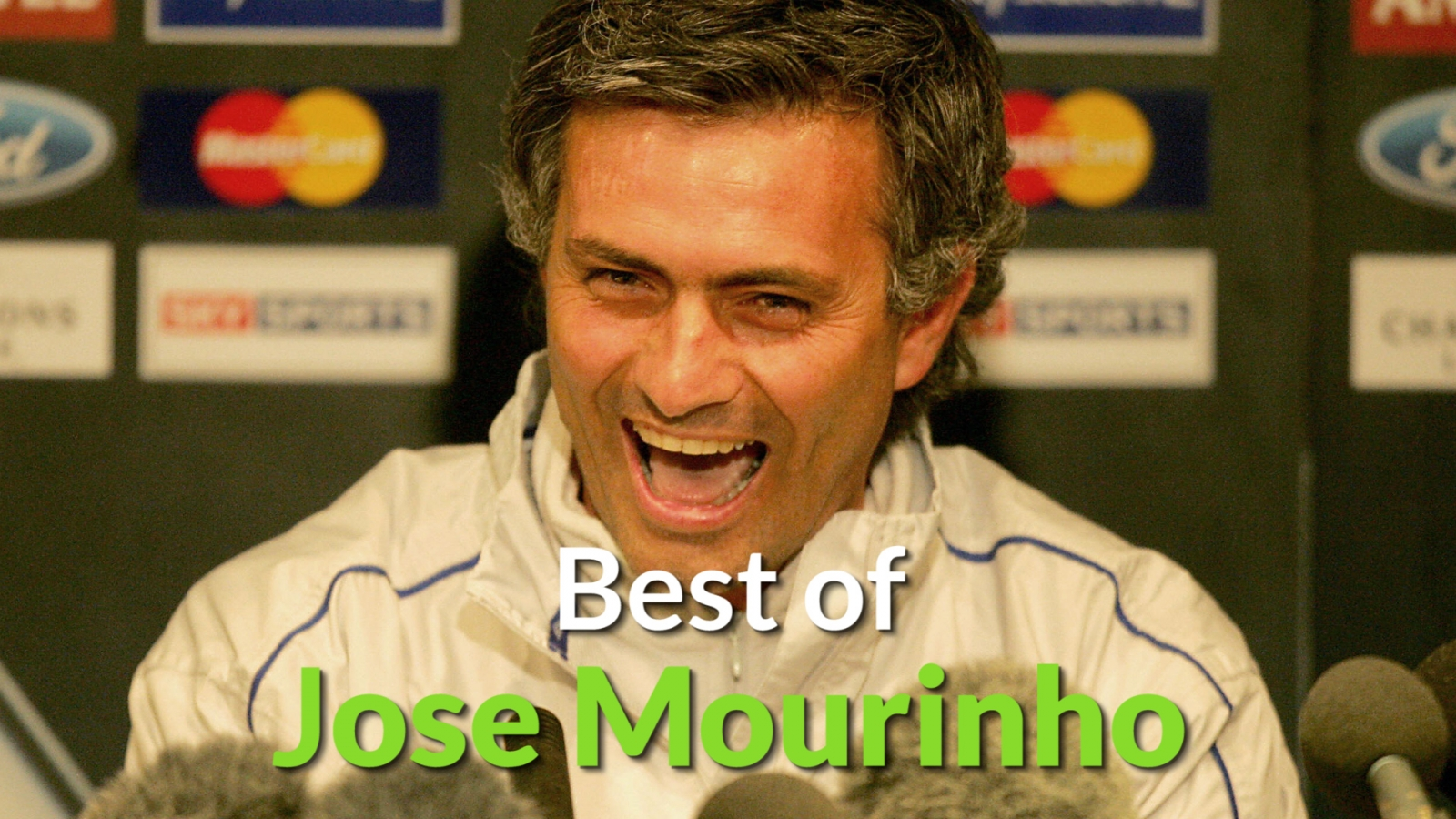 "Jose Mourinho: The best of the ""special one"""