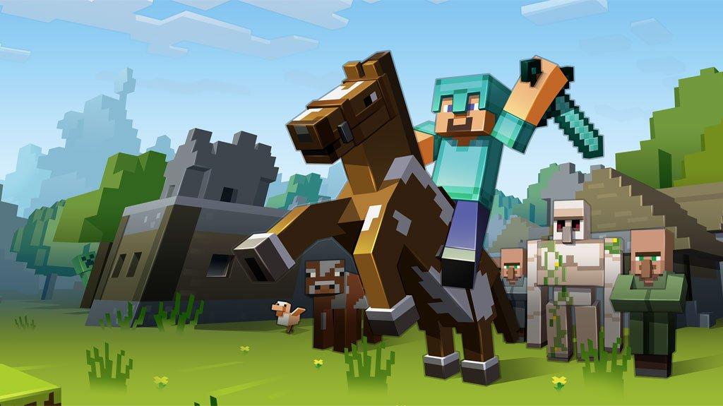 Minecraft PS4 PS3 Xbox Vista