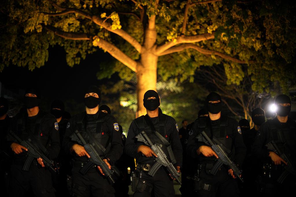 El Salvador's elite police unit