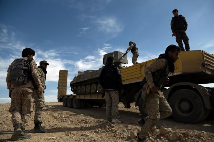 SDF vs Raqqa