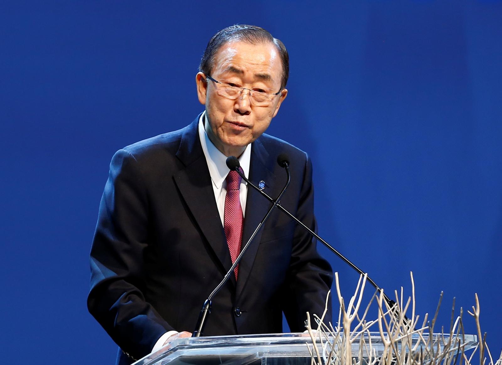 Ban Ki-moon South Korea president