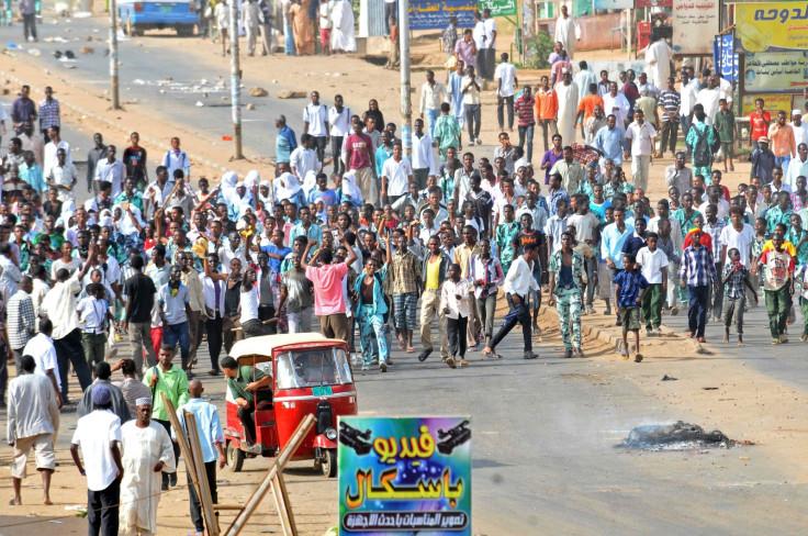 Sudan protests in Khartoum