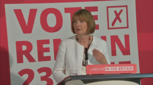 Harriet Harman:Women excluded from Brexit debate