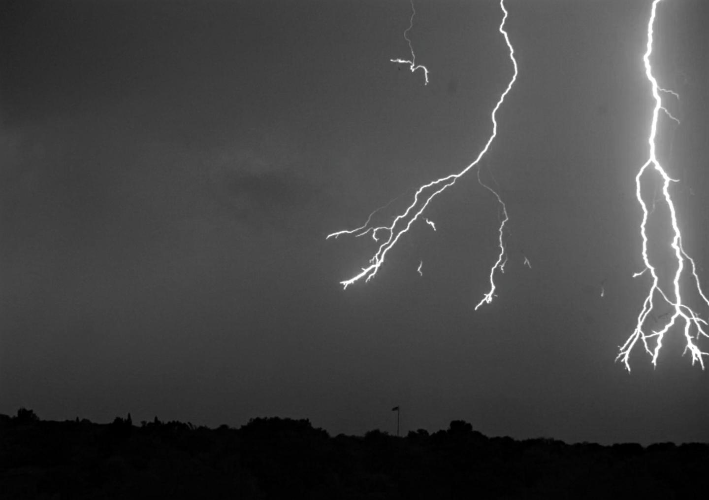 thunder lightening