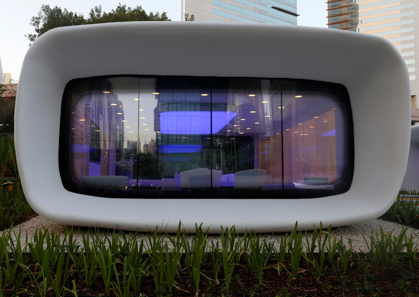 World's first ever fully functioning 3D printed office unveiled in Dubai
