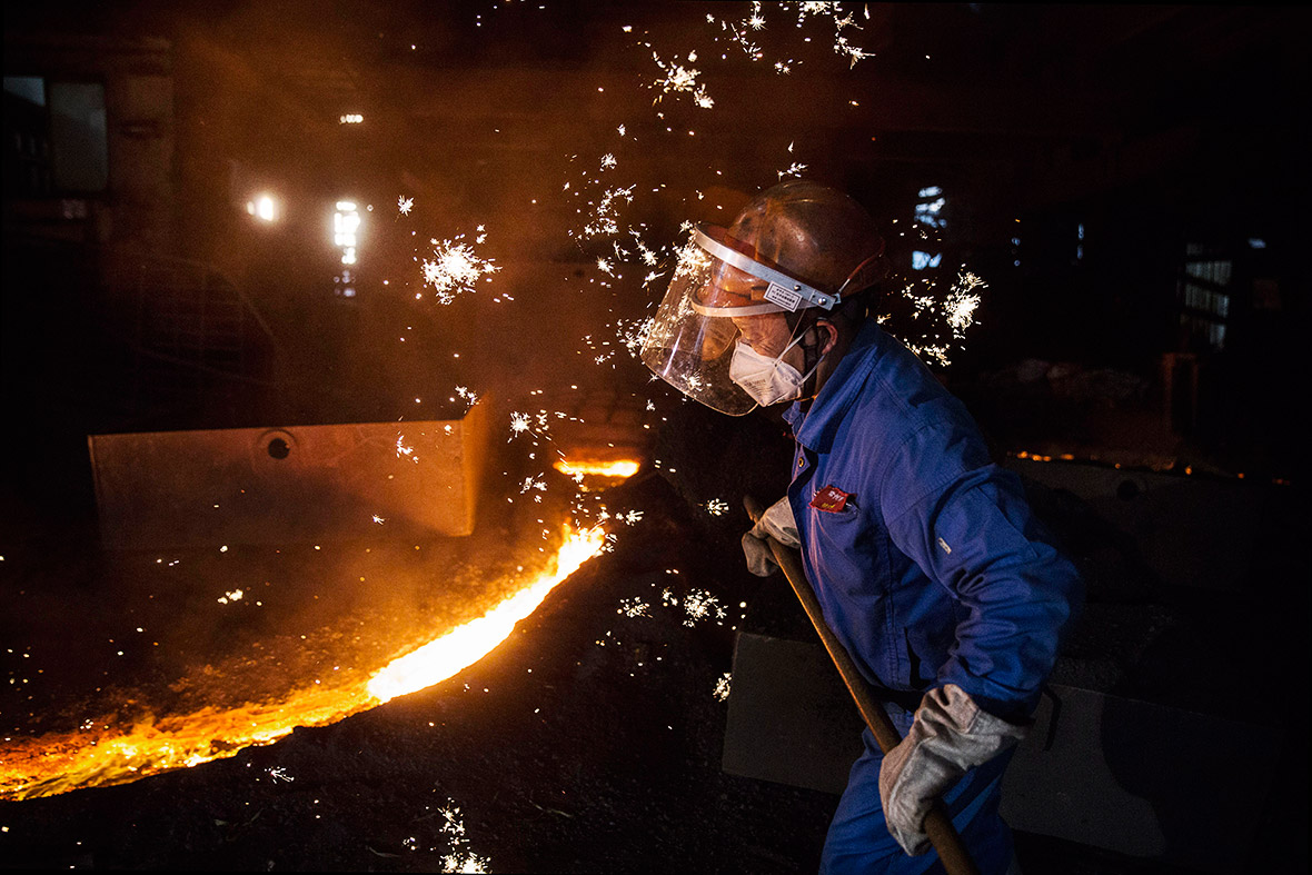 China steel industry