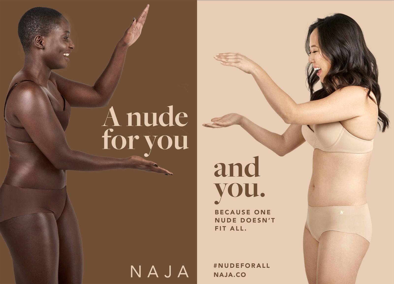 new nude lingerie range