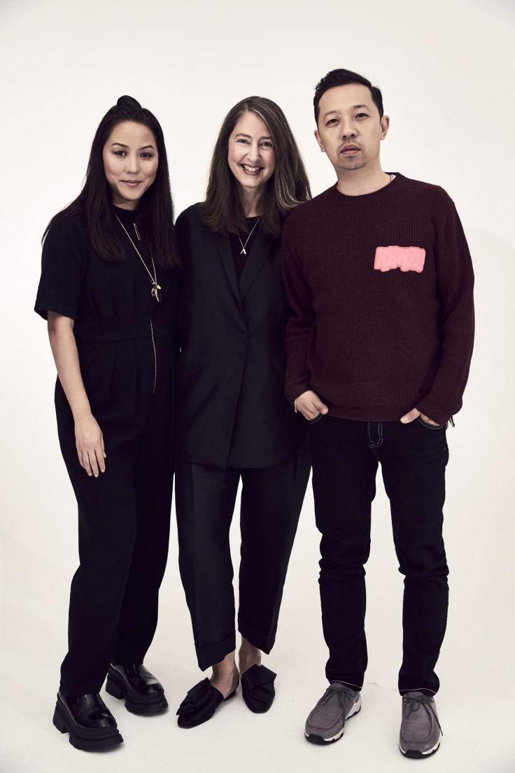 9562de36 Carol Lim and Humberto Leon with H&M's creative advisor Ann-Sofie Johansson  (centre) HM